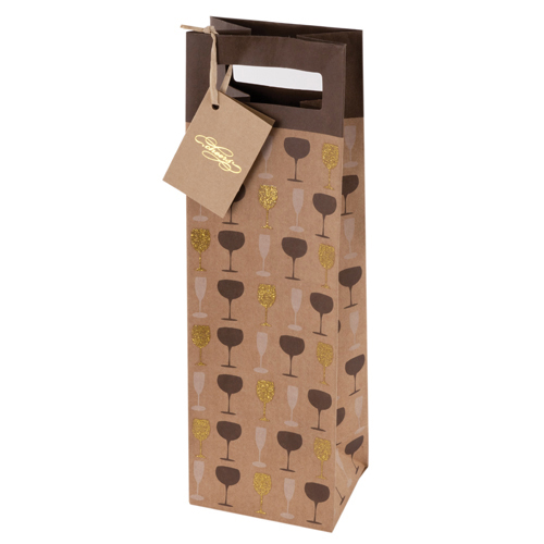 Raise Your Glass Wine Bag by Cakewalk