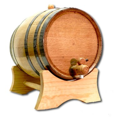 5 Gallon American White Oak Barrel