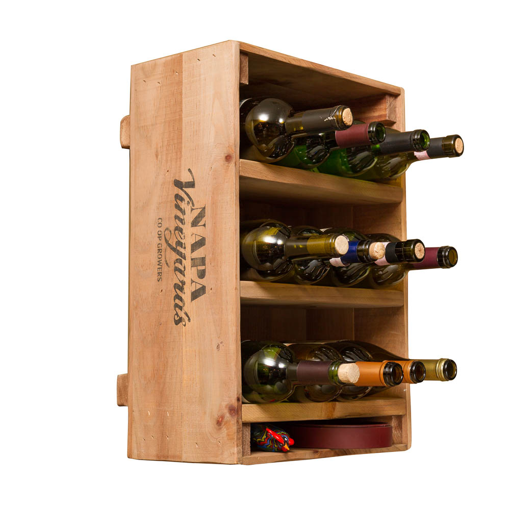 Wine Crate 12 Bottle Wine Rack