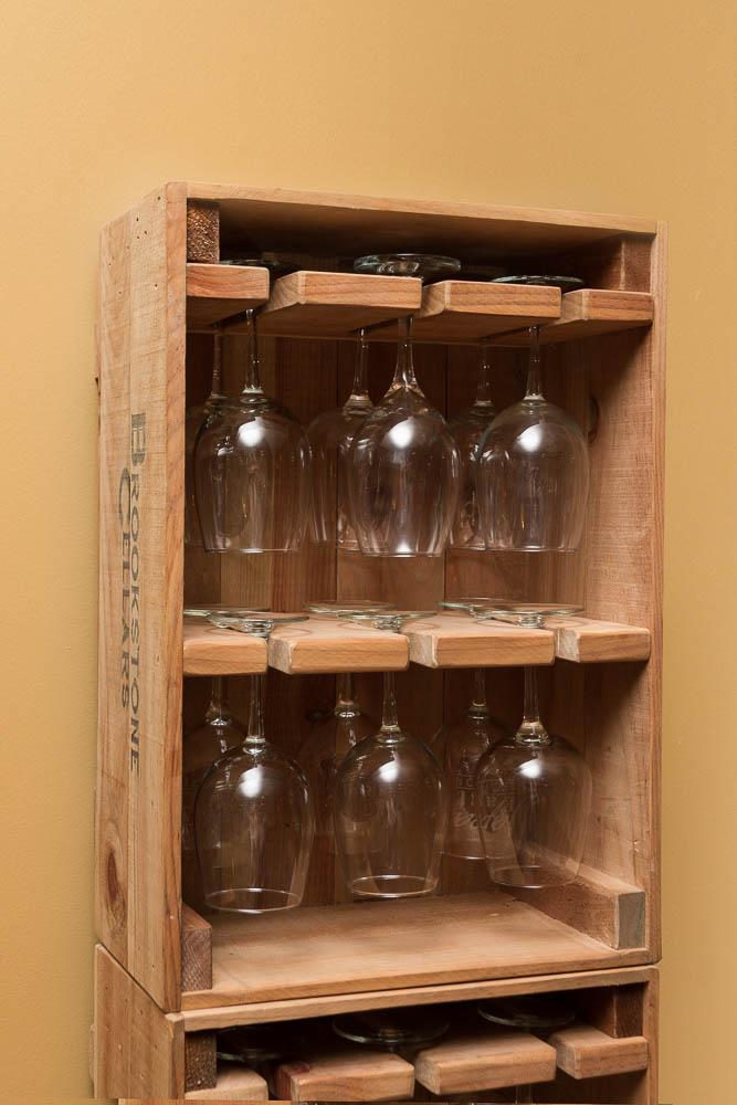 Wine Crate 12 Wine Glass Holder