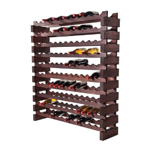 120 Bottle Modular Wine Rack - Stained