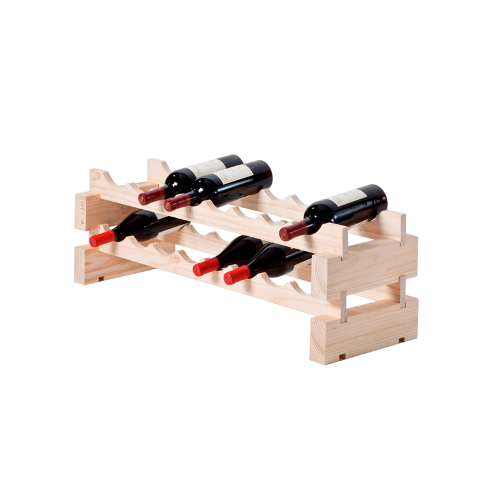 16 Bottle Modular Wine Rack - Natural