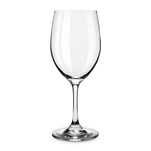 Taste  Set Of 4 Red And White Tasting Glass
