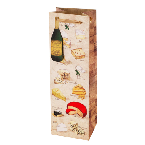 Say Cheese! - Illustrated Wine Bag
