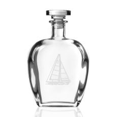 Sailboat Decanter 23 oz