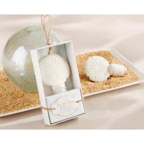 Ceramic Sand Dollar Bottle Stopper