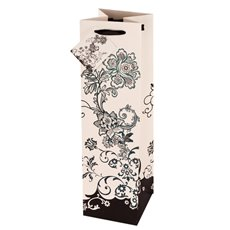 Floral Chic Wine Bag