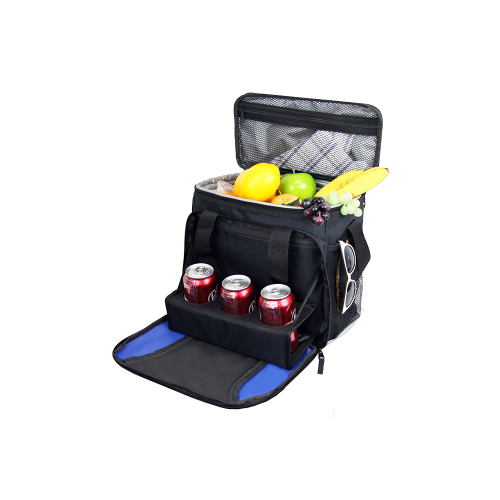 24 Can Cooler Tote with Drink Tray