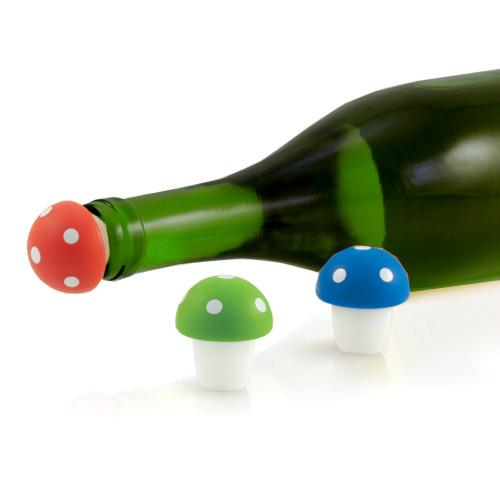 Toadstool Bottle Stoppers
