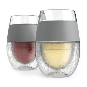 Wine Freeze Cooling Wine Glasses (set of 2)