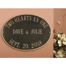 Personalized Wedding Plaque