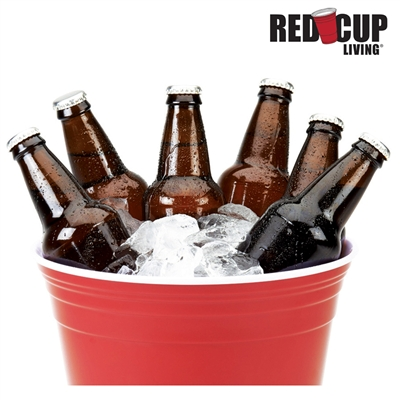 Red Cup Living Party Bucket
