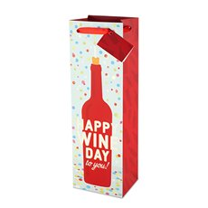 Happy Wine Day To You Wine Bag