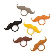 Incognito: Mustache Bottle Neck Markers