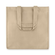 6 Bottle Non Woven Tote In Beige