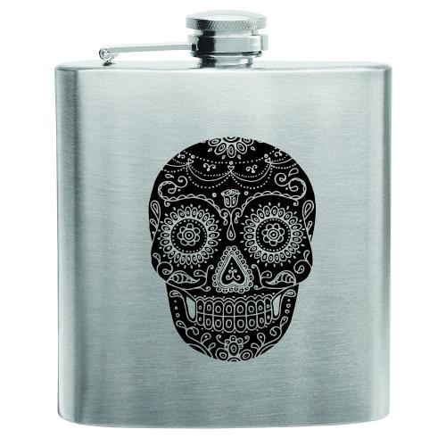Dia De Los Muertos Stainless Steel Flask