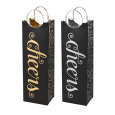 Assorted Cheers Wine Bags