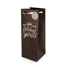 Holiday Spirits Liquor Bag