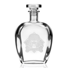 WOOF! Poodle Decanter 23 oz