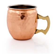Old Kentucky Home Hammered Moscow Mule Shot Mugs by Twine