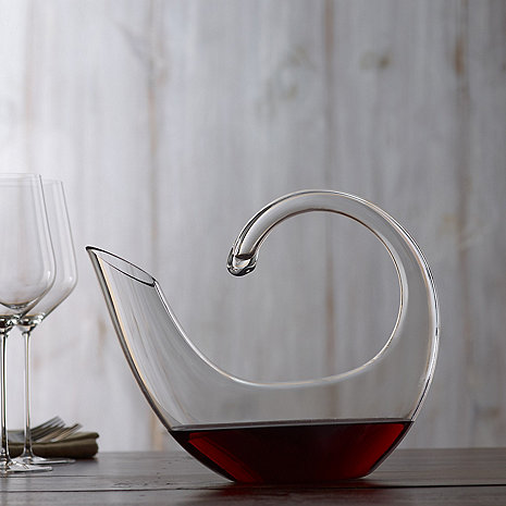 Art Series Crescent Wine Decanter