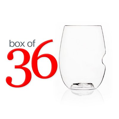 Govino Stemless Wine Glasses (box of 36)