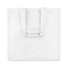 6 Bottle White Non Woven Tote