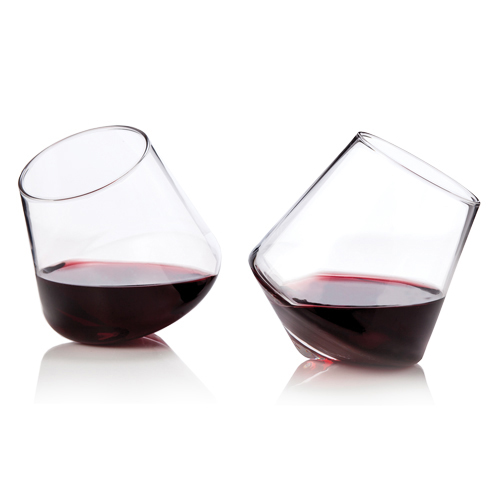 Raye: Rolling Stemless Glasses (set of 2)