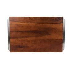 Admiral Acacia Wood Cheese Board by Viski