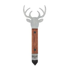 Stag Acacia Wood Bottle Opener by Foster and Rye