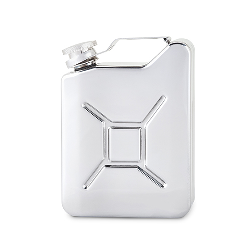 Stainless Steel Gas Can Flask by Foster and Rye