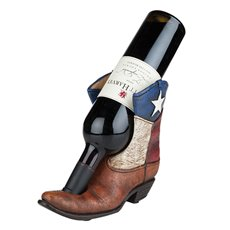 Lone Star Boot Bottle Holder by Foster and Rye