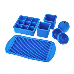 Quench Ice Box, Assorted Ice Cube Tray