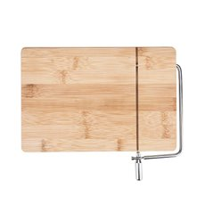 Wireslice Bamboo Cheese Slicing Board