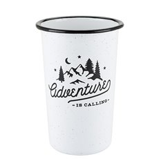 Adventure Enamel Pint by Foster and Rye