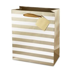 Ritzy Stripe Double Bottle Bag Assortment