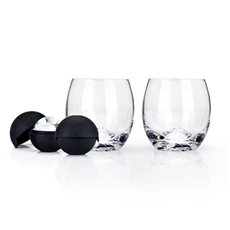 Glacier Rocks Ice Ball Mold and Tumbler Set by Viski