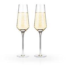Raye Crystal Champagne Flutes (Set Of 2)By Viski