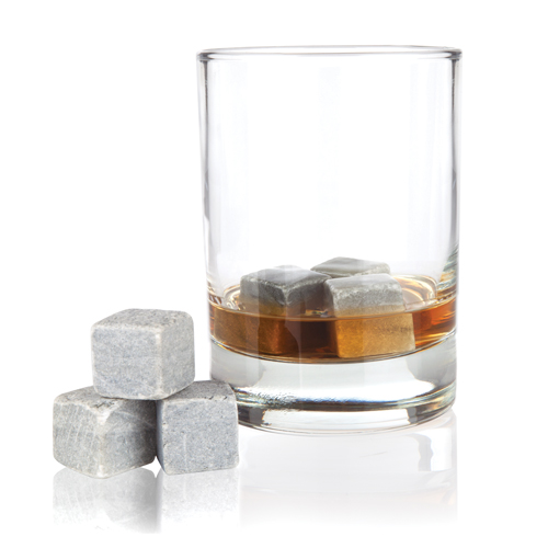 Glacier Rocks 6 Piece Soapstone Cube Set (Set of 6)