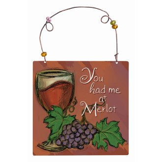 You Had Me At Merlot Ornament