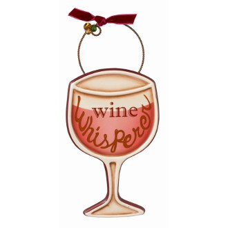 Wine Whisperer Ornament