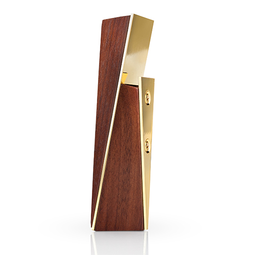 Belmont Acacia and Gold Bottle Opener by Viski