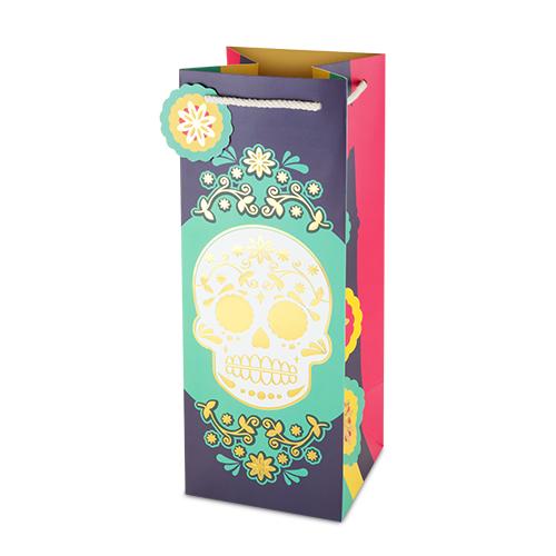 Dia de los Muertos Liquor Bag