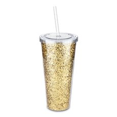 Glam Double Walled Glitter Tumbler by Blush