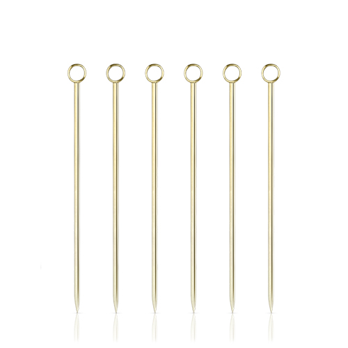 Belmont Gold Cocktail Pick Set By Viski (Set of 6 )