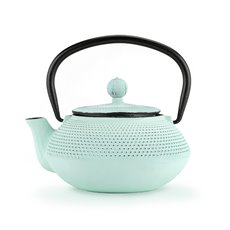 Miko Light Blue Cast Iron Teapot by Pinky Up