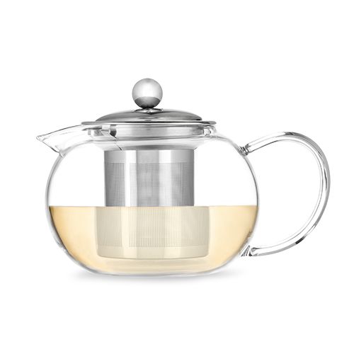 Candace Glass Teapot and Infuser by Pinky Up