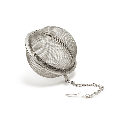 Tea Infuser Ball in Stainless Steel by Pinky Up