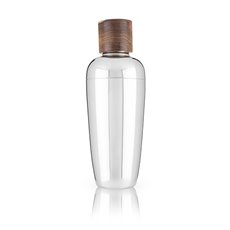 Admiral:Wood and Stainless Steel Cocktail Shaker
