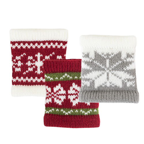 Snug Sweater Koozies in Asstd Patterns